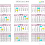 calendario lunare 2016
