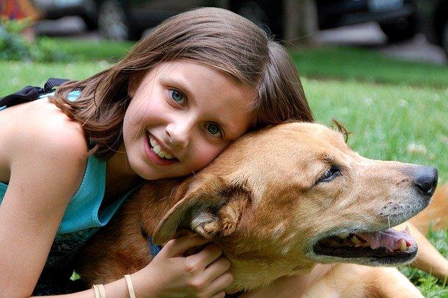 cagnolini e bambini
