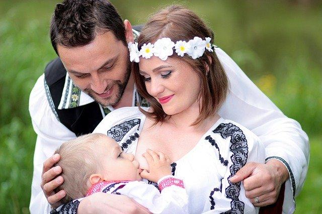 sognare di allattare