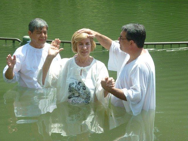 battesimo per immersione