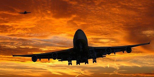 sognare aereo che cade