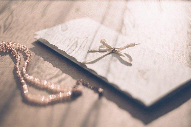 busta regalo battesimo